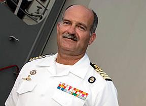 El almirante Ruiz Casas, jefe del Cuarto Militar del Rey