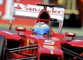 Casi imposible para Fernando Alonso: saldrá 8º, aunque Vettel sólo pudo ser 4º