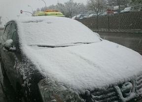 Intensa nevada en Cuenca, aunque sin incidencias