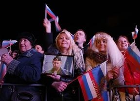 Crimea desafía al mundo con una victoria aplastante del 'sí' para dejar Ucrania y formar parte de Rusia