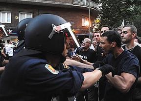 Los antidisturbios hacen olvidar su supuesta empatía con las protestas en una violenta jornada de represión