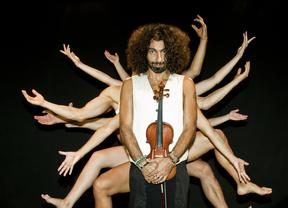 El nuevo espectáculo del polifacético Ara Malikian nos muestra sus 'caprichos... para violín y cuerpo'