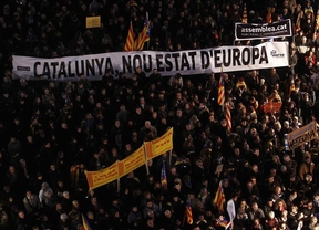 Barcelona sale a la calle a favor de la educación en catalán y contra la reforma de Wert