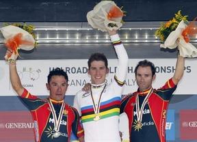 Valverde y 'Purito' liderarán a España en el Mundial en Ponferrada, mientras que Contador es baja