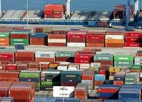 El déficit comercial cayó un 9,1% en los diez primeros meses del año