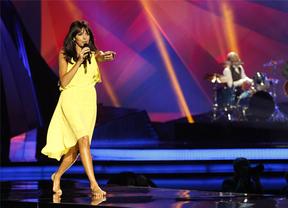 El look de Raquel del Rosario para Eurovisión