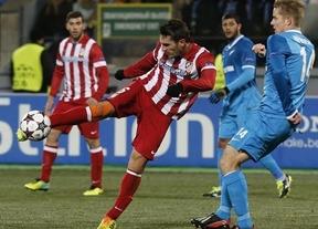 Un Atleti lleno de suplentes da la cara en Rusia y empata con el Zenit (1-1)