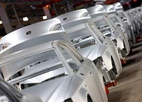 Cadena de montaje de una fábrica de automóviles