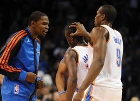 Se aleja el sueño de Ibaka de ser campeón de la NBA, tras la paliza de sus' Thunder' ante los Spurs (122-77)