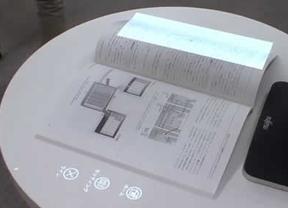 Fujitsu convierte cualquier superficie en una pantalla táctil