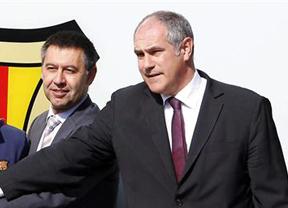 Zubizarreta, cabeza de turco en el Barça tras la confirmación de la sanción de la FIFA
