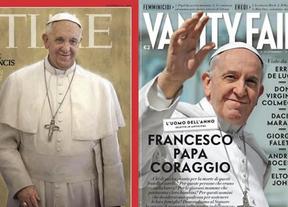 Imágenes históricas, portadas y rock and roll: así ha sido el año estelar del Papa Francisco