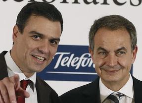 Sánchez y Zapatero,