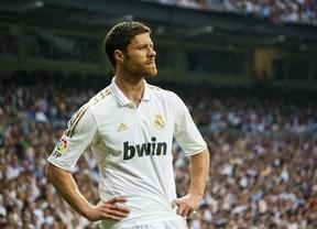 El centro del campo del Madrid sufrirá la baja de Xabi Alonso, al menos, otros dos meses