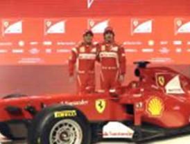 La escudería Ferrari presenta el nuevo y revolucionado F150