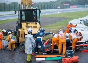 Bianchi, operado de urgencia tras su accidente en el GP de Japón