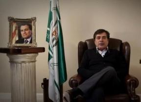 El presidente del Córdoba vuelve con otro vídeo, esta vez para Mas: '¿Usted se ha pensado bien lo de la independencia?'