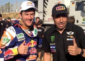 Cartel de lujo en el Rally de Marruecos con Nani Roma, Marc Coma y Laia Sanz