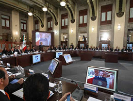 La UNASUR finalizó con un fuerte reclamo al gobierno español por Honduras