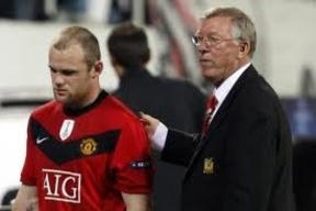 Rooney se quiere ir del Manchester, pero Ferguson no le deja.