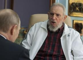 Fidel Castro vuelve a aparecer en público para reunirse con Putin