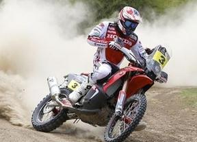 Sigue el dominio español en el Dakar: Barreda, líder en motos y Sainz sube al segundo puesto en coches