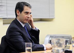El director del Eurocolegio Casvi, Juan Luis Yagüe:
