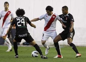 El Rayo consigue 'in extremis' ganar al Granada (1-0)