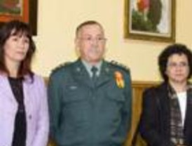 Formación de la Guardia Civil en la lucha contra ella