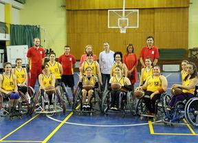 La Selección Española de Baloncesto Femenino en silla de ruedas prepara el Europeo en Toledo