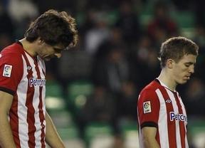 El Athletic cae ante el Lokomotiv pese a una buena primera parte (2-1)