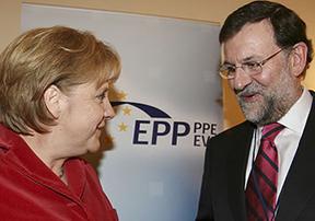 Rajoy sigue hasta en Europa con su pacto de silencio