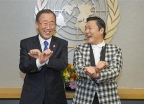 Ban Ki-moon también se contagia con el 'Gangnam Style'