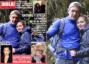 Antonio Banderas y Stella del Carmen, de viaje... ¿pero de cuándo son esas fotos?