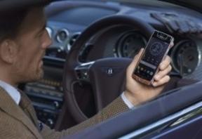 Bentley también saca su teléfono móvil