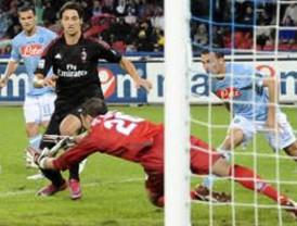 Milan vence 2-1 al Napoli en cierre de jornada en Italia
