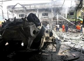 Siete muertos en una cadena de atentados perpetrados en el sur de Tailandia