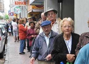 El gasto en pensiones contributivas sube un 3,1% y alcanza en febrero la cifra récord de 8.169 millones