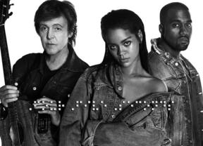 Rihanna, Paul McCartney y Kanye West estrenan el video de 'Four Five Seconds'