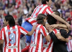 El Atlético sigue mirando a Europa tras vencer al Espanyol (3-1)