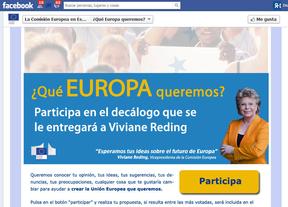 La Comisión Europea echa mano de las redes sociales para preguntar: '¿Qué UE quieren los españoles?'