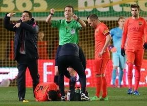 El Barça esconde el alcance exacto de la lesión de Busquets, que será baja ante el Rayo