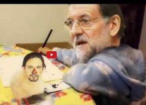 El viral de 'La que has liao pollito' acaba en parodia de Rajoy y Pablo Iglesias