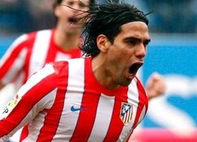 Falcao también es la gran estrella rojiblanca en la gira colombiana del Atlético de Madrid