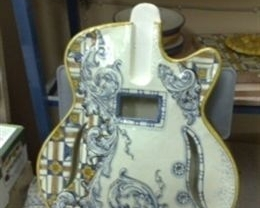 La primera guitarra de cerámica del mundo se presentará en julio