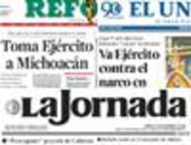 El Universal y Reforma resaltan el operativo de seguridad en Michoacán