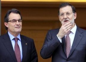 Malos augurios: Rajoy-Mas, cada uno por su lado