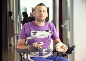 Pacientes de Parapléjicos graban un vídeo ante la operación salida de vacaciones