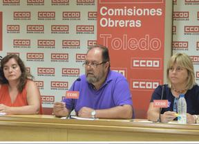 CCOO pide a Cospedal acabar con la medida que rebajó un 3% el sueldo a los funcionarios