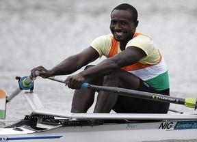 Djibo Issaka, el remero olímpico que no sabía remar